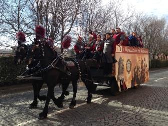 Aranceri arriving to their posts: Pre-Battle.