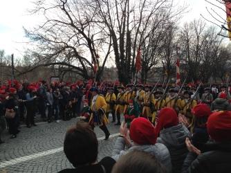 Parade Procession: Post Battle